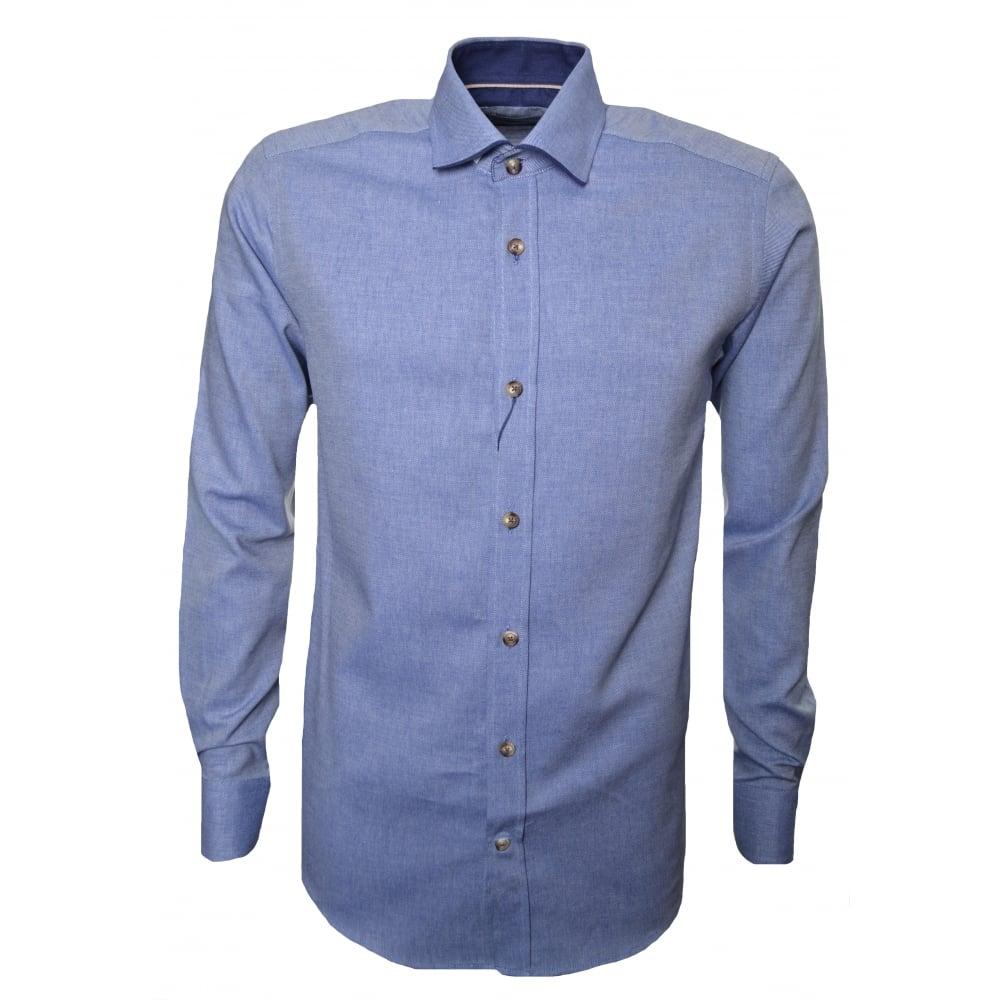 Guide London Herren Blau Langärmeliges Top  | Sale Outlet  | Vorzugspreis  | Ausgezeichnet