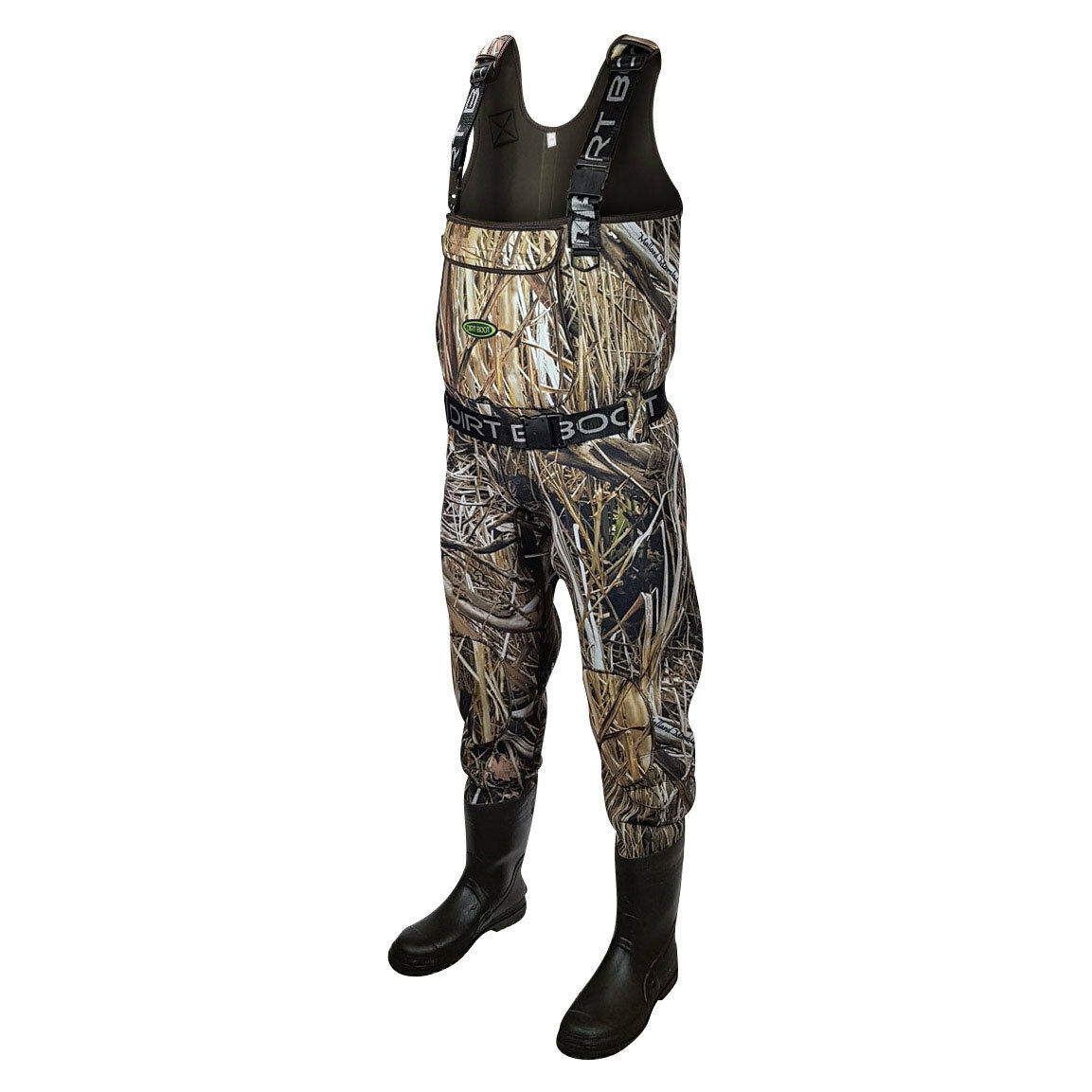 40-47 EU STRONG Fishing Chest Waders PVC like Latex Sizes 7-14,5 Mud
