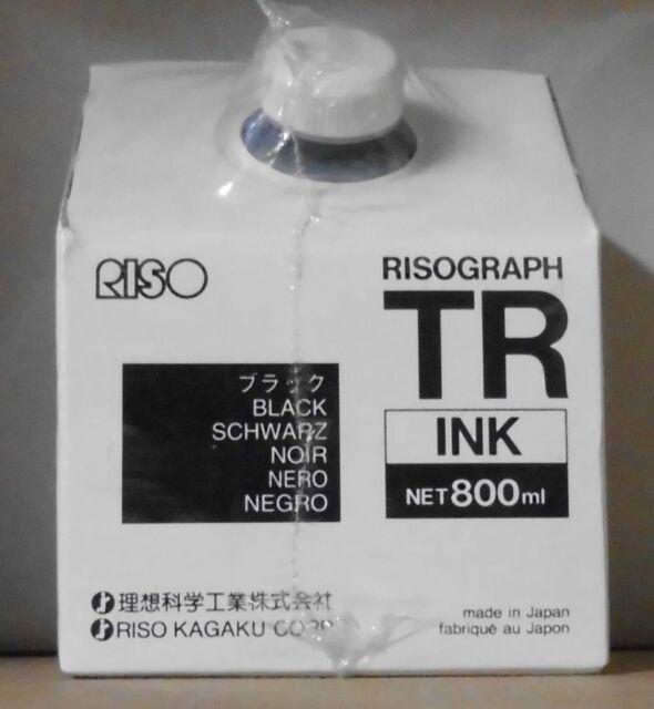 Original Riso Tintenpatrone Ink S-952 black für TR 1510 TR 1530 OVP A