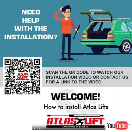 Atlas Hatch Lift Supports Shock for 07-09 Suzuki XL-7