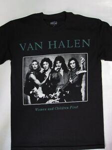 5adbaaf439e Image is loading Van-Halen-Women-and-Children-First-T-shirt
