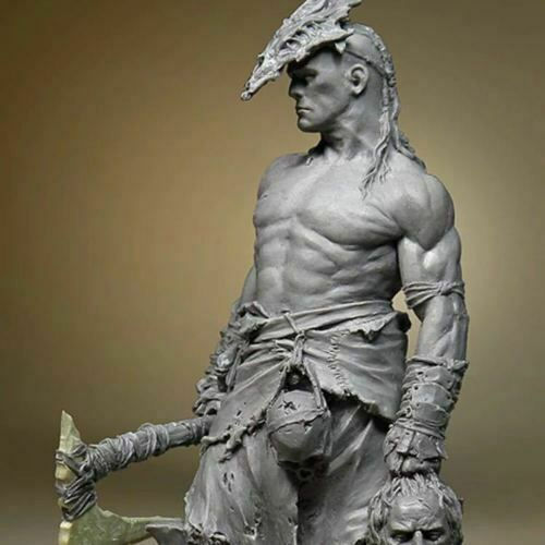 1//24 75mm Resin Figure Model Kit The King of Roza Unassemb Unpaint 1 Figure Only
