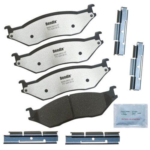 Disc Brake Pad Set-Fleet MetLok Disc Brake Pad Front,Rear Bendix MKD777FM