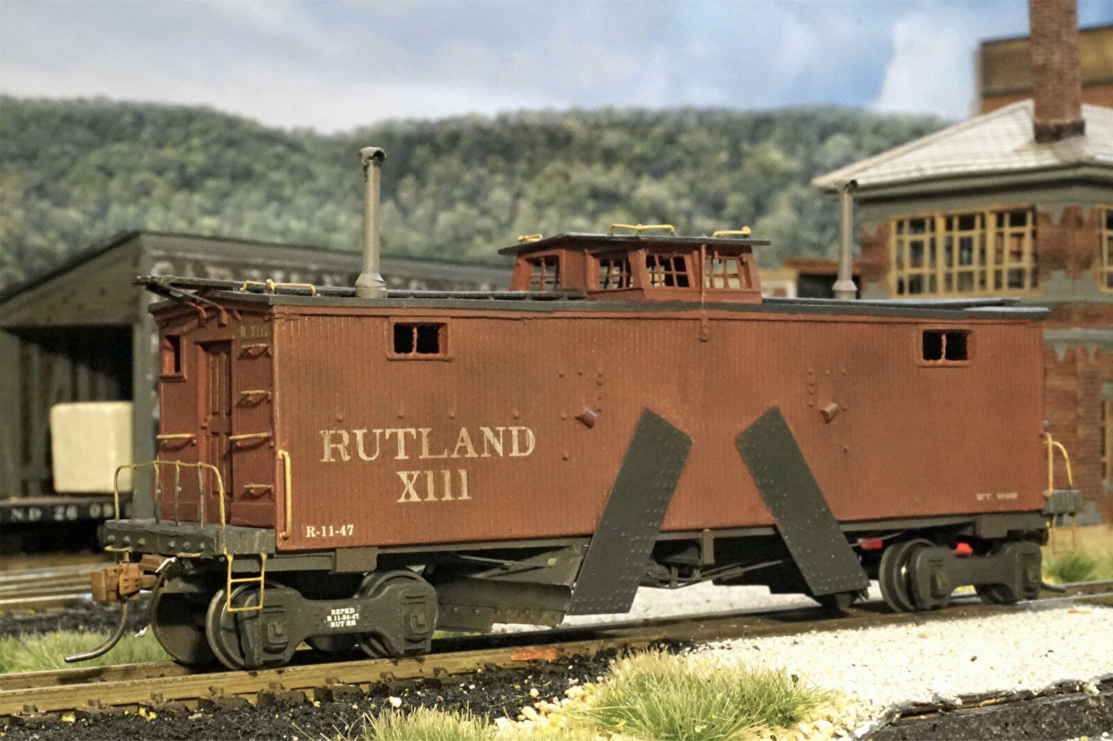 Con 100% de calidad y servicio de% 100. Rutland Flanger  111 HO Modelo Del Del Del FerroCocheril cortar Sin Pintar Resina Kit SPK72  precios ultra bajos