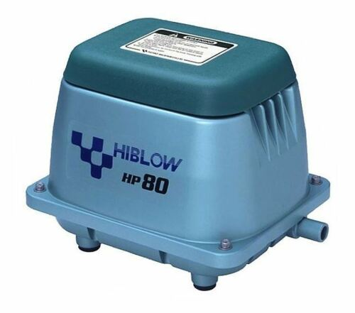 Original Hiblow HP-80 From Takatsuki 80 L//Min 71 Watt Koi Pond Ventilator