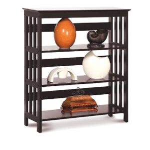 Image Is Loading Home Office Wooden Bookcase Storage Bookshelf 3 Shelves