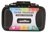 Nintendo 3ds / 3ds Amiibo Tasche Schwarz Für Konsole Figurenspiele Na5
