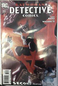 2009-Detective-Comics-858-1-10-SIGNED-Adam-Hughes-Variant-Cover-BATWOMAN