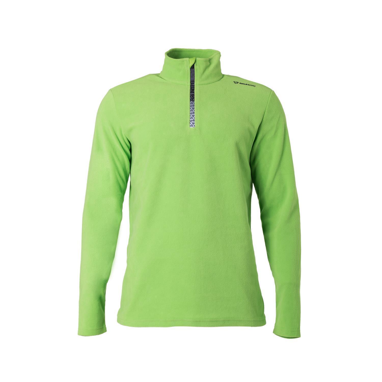 Brunotti Fleece Pul  r Jumper Tenno W1819 Men Fleece Green Warming  save up to 70%