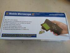 500x 5mp Portable Digital Mobile Microscope Set Hd Camera Foldable 3 Lcd Screen