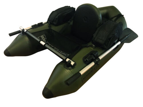 KINETIC Admiral Belly Boot Float Tube Belly Boat Schlauchboot mit Rudern Pumpe