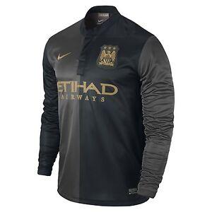 ... camisa nike dri-fit authentic football academy training. Carregando zoom   good looking 9b1e8 d414e A imagem está carregando Nike-Manchester-City-Away-  ... bdbc869b67f2d
