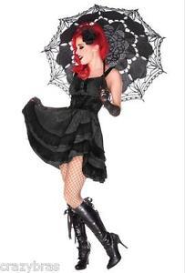 Jawbreaker-Black-Rose-Gothic-Lace-Dress-Sizes-UK-8-10-12-14