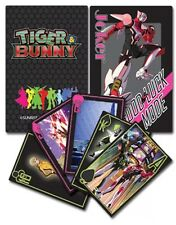 Tiger & Bunny Playing Cards Anime Manga AUTHENTIC LICENSED BRAND NEW
