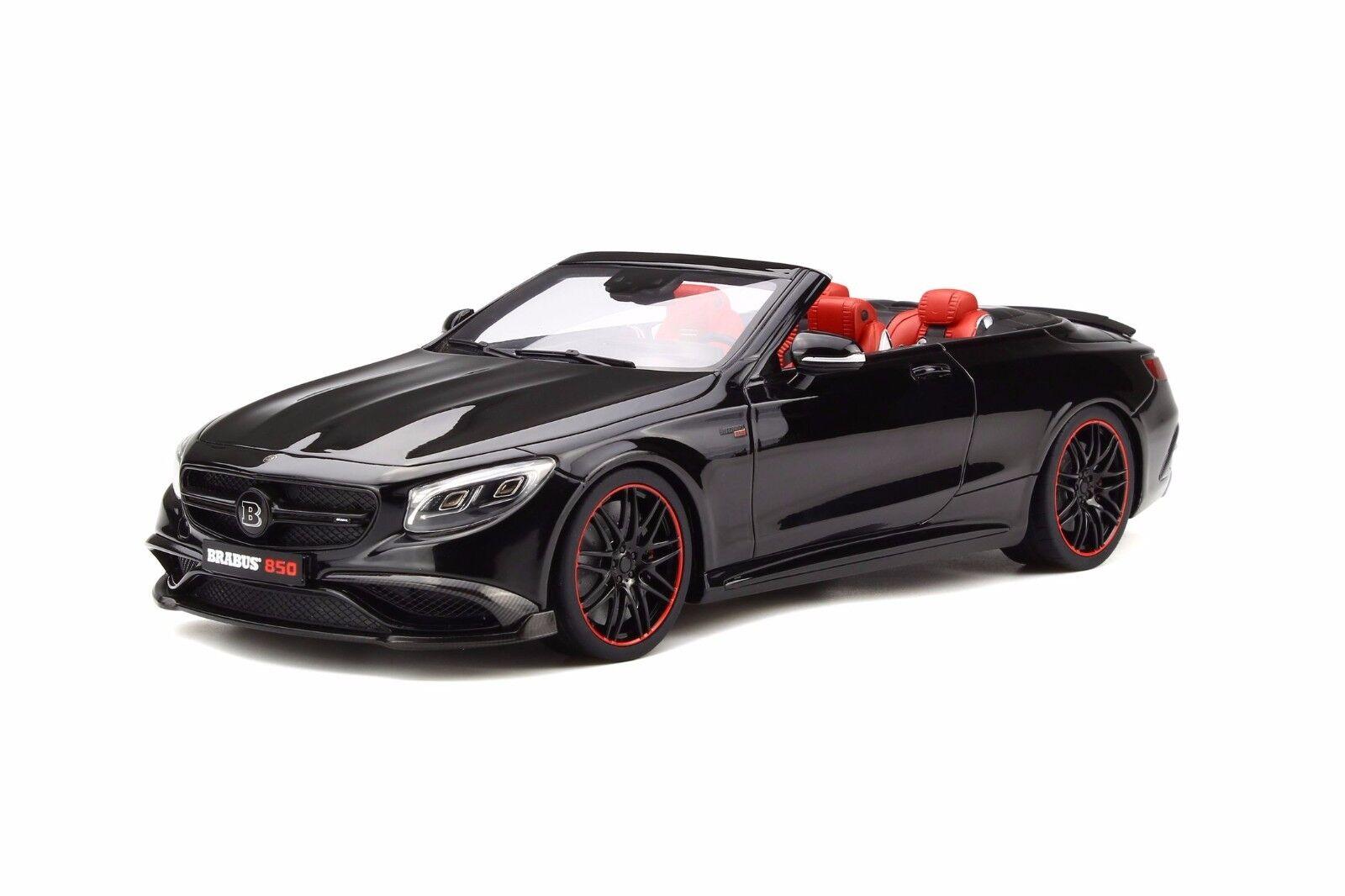 GT Spirit 1 18 Mercedes-Benz Clase S 850 Brabus Cabrio Negro GT194