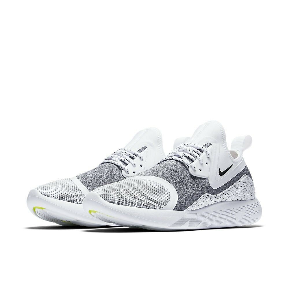923619-101 Nike Lunarcharge Essential Mens White/Black Shoes Running Trainers Shoes White/Black 9b508e