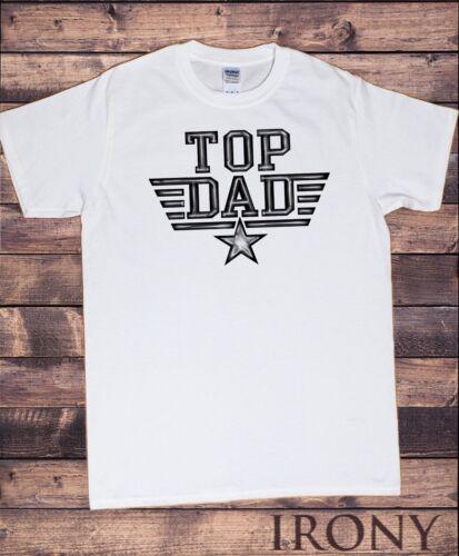 TS816 Men's T-Shirt World/'s Best Dad Father/'s Day T-Shirt Top Dad Top Gun