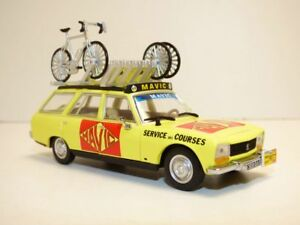 PEUGEOT-504-break-MAVIC-Tour-de-France-cycliste-1977-1-43-velo