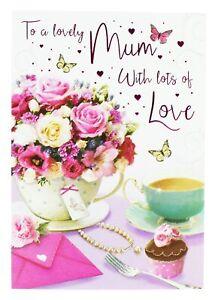 Buon Compleanno Mamma Glitter.Buon Compleanno Biglietto D Auguri Busta Guarnizione Per La