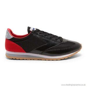 NEW-Brooks-Vanguard-Vintage-Lifestyle-Men-039-s-Shoes-Black-Red-Retro-110166-064