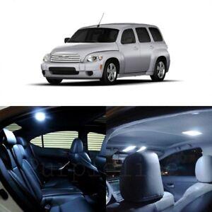 11 X White Led Interior Light Kit For 2006 2011 Chevrolet Chevy