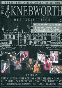Live at Knebworth : Deluxe Edition (2 DVD + 2 CD + Extras)