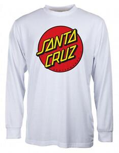 SANTA-CRUZ-CLASSIC-DOT-LONGSLEEVE-TEE-SHIRT-WHITE