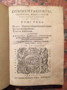 Gomez-Commentariorum-resolutionum-iuris-civilis-tomi-tres-Venetiis-1572