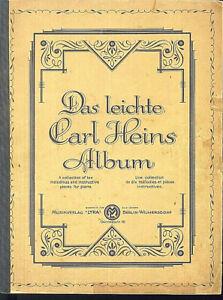 Das leichte Carl Heins Album - Klavier