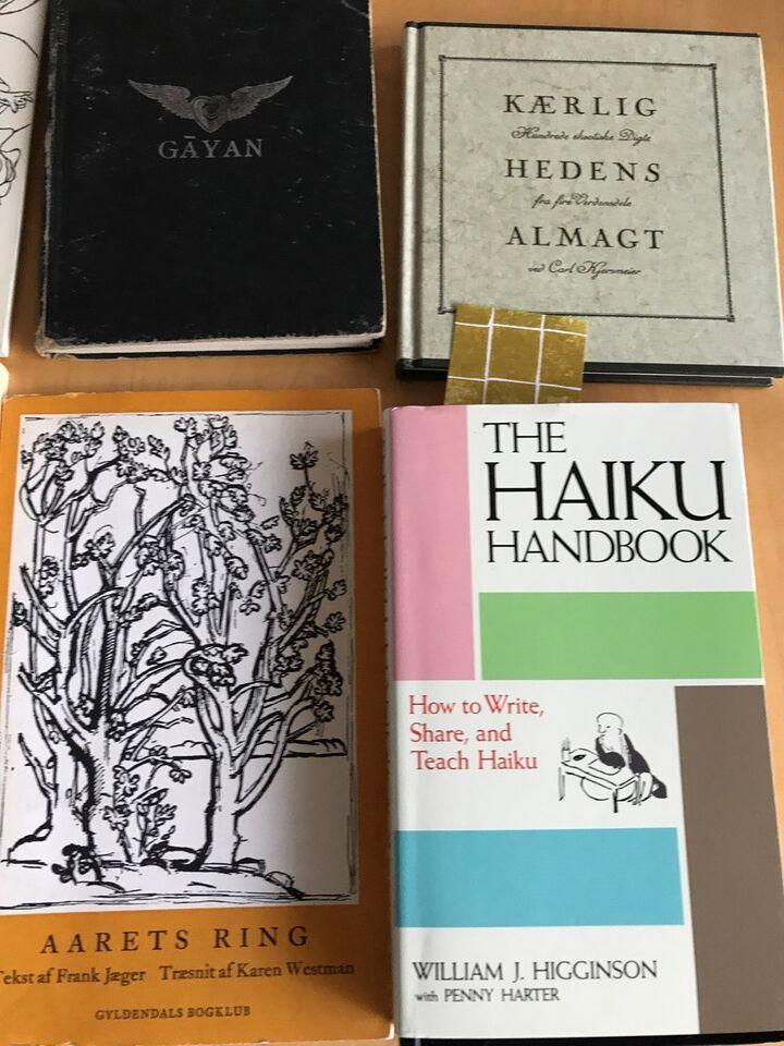 9 stk. blandet : Haiku digte m.m., Forskellige , emne: anden