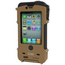Iphone 4&4s Case Slxtreme Army Coyote Tan Brown Tough Solar Charger Snow Lizard