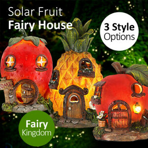 Garden-Solar-Fairy-House-Fruit-Cottage-Fairy-Tale-LED-Light-Home-Decoration