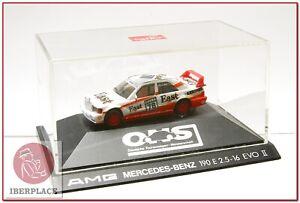 H0-escala-1-87-ho-maqueta-modelismo-coche-auto-car-Herpa-Mercedes-AMG-190-E-EVO2