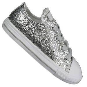 scarpe converse brillantini