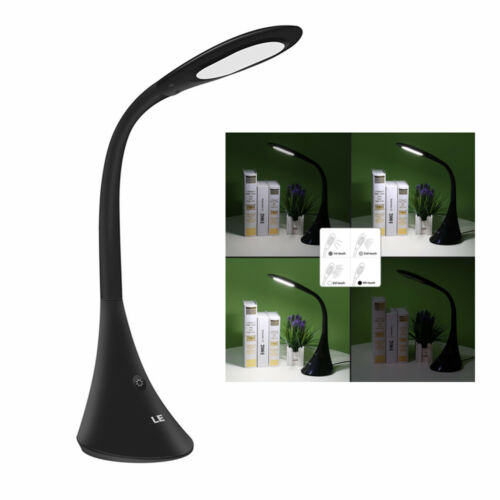 9W Dimmable LED Desk Lamp Touch Sensitive Control Reading Table Lamp Daylight