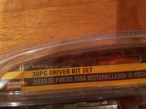 NEW Olympia Tools 30 pc Driver Bit Set 86-038-0116