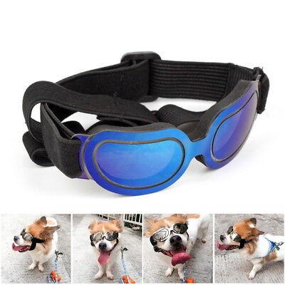 Details zu Hunde Sonnenbrille Schutzbrille Cabriobrille gegen Wind und Sonne schwarz