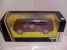 6.5 INCH Ford Escort 1985 Schabak 1/24 Diecast Mint in Box