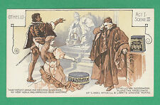 LIBBY  McNEILL  &  LIBBY  OF  CHICAGO - VERY RARE SHAKESPEARE CARD (6)  - C 1900
