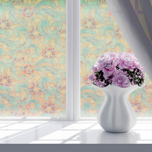 Waterproof Frosted Opaque Window Film Privacy Adhesive Glass Stickers Sale,