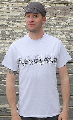 orange krate bike stingray schwinn vintage t-shirt clothing small to 2xl