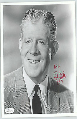 Rudy Vallee Signed Inscribed 8x10 Jsa Authenticated Coa #41750 Relieving Rheumatism And Cold deceased