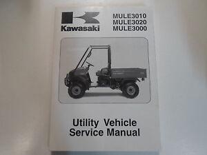 2003 2004 2005 2006 kawasaki mule 3010 3020 3000 utility service rh ebay com Kawasaki Mule 3010 Operators Manual 2006 kawasaki mule 3010 service manual pdf