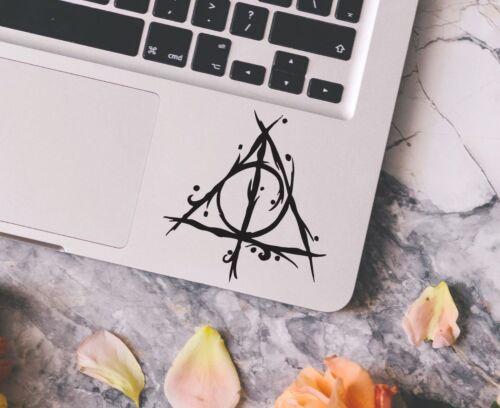 Harry Potter Decal Deathly Hallows Macbook Laptop Car Wall Vinyl Sticker 26
