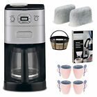 Cuisinart Grind & Brew Thermal DGB-650BC 10 Cups Coffee Maker - Black/Silver