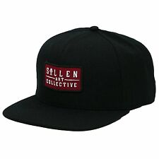 Sullen Clothing Brick Tattoo Art Goth Punk Skull Logo Snapback Hat Cap SCA0106