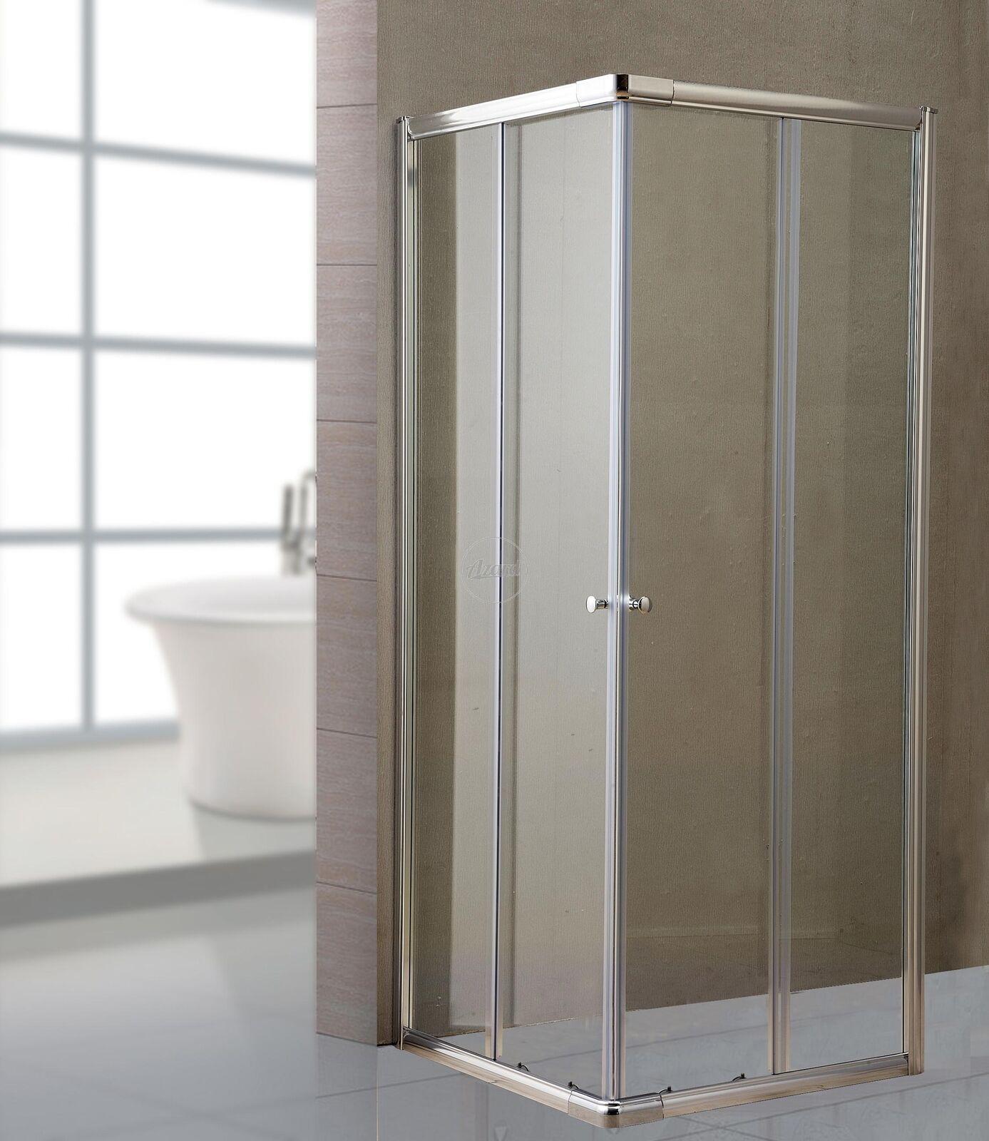 Box doccia cristallo trasparente mm.6cm.70x70 lusso h. 185 cm
