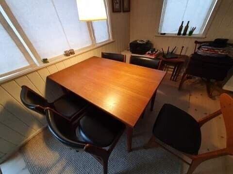 Spisebord, Teak, b: 85 l: 130