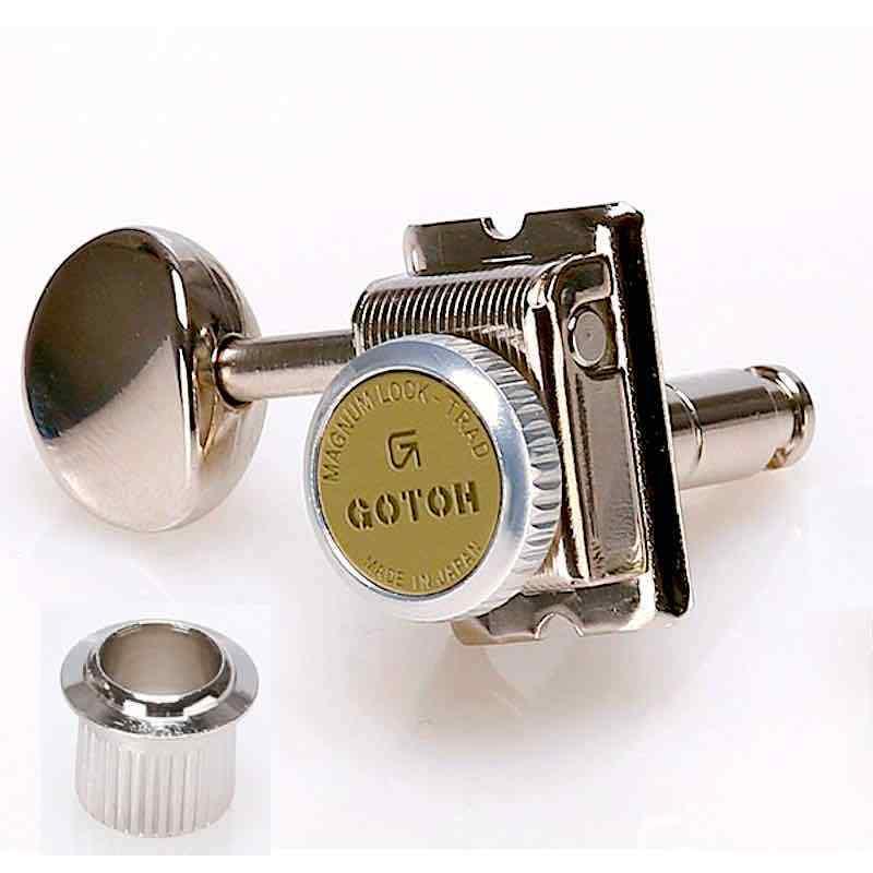 6R.Meca Gaucher Blocable GOTOH SD91MGT MagnumLockTrad Locking Tuners Ni LeftHand