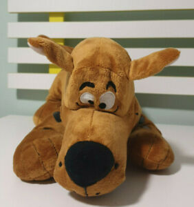 SCOOBY-DOO-CHARACTER-SOFT-TOY-PLUSH-TOY-MOVIE-WORLD-40CM-LONG-HANNA-BARBERA